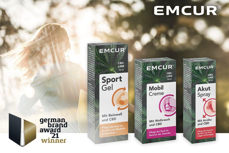 German Brand Award 2021 – Emcur