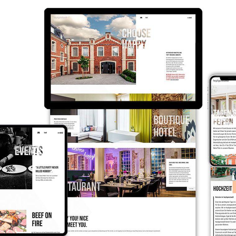 Neue Website für das Hotel Heyligenstaedt
