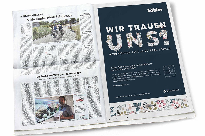 MHK-Neueröffnung Tageszeitung