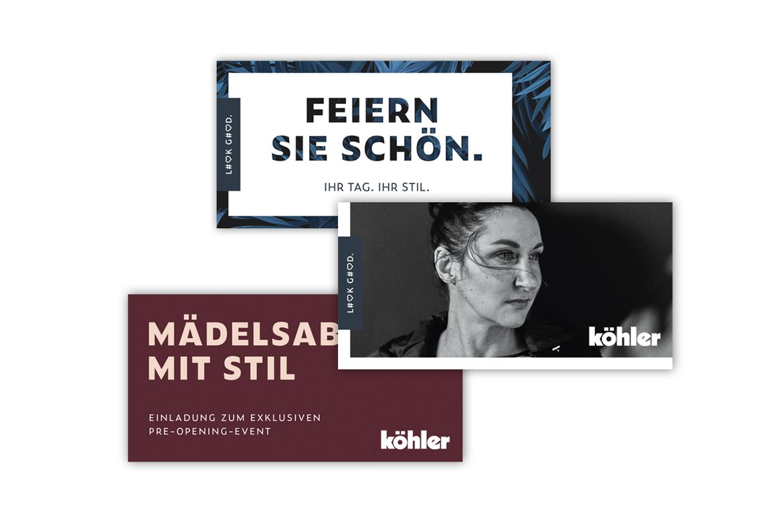 Modehaus Köhler Mailings