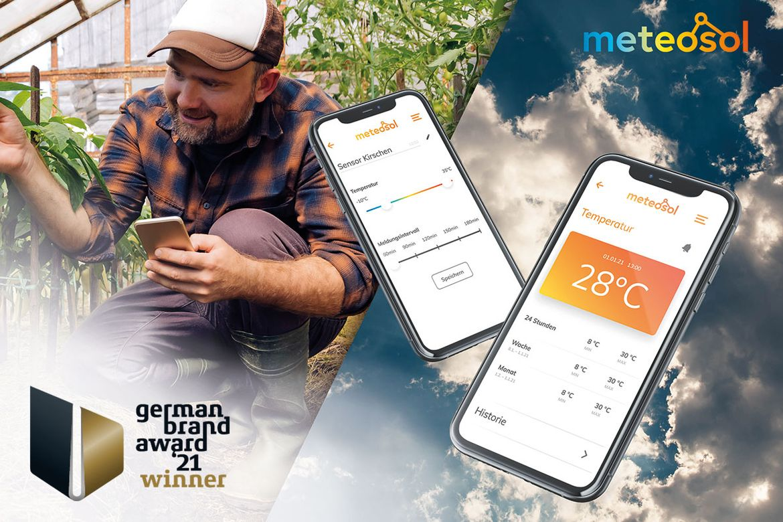 German Brand Award 2021 – Meteosol