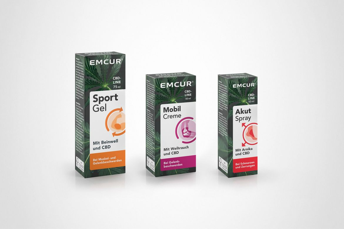 Emcur CBD-Line Packaging