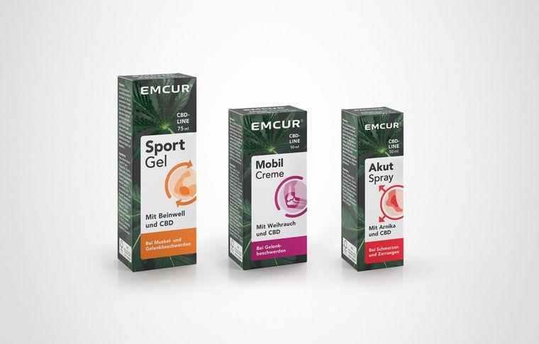 Emcur CBD-Line Packaging
