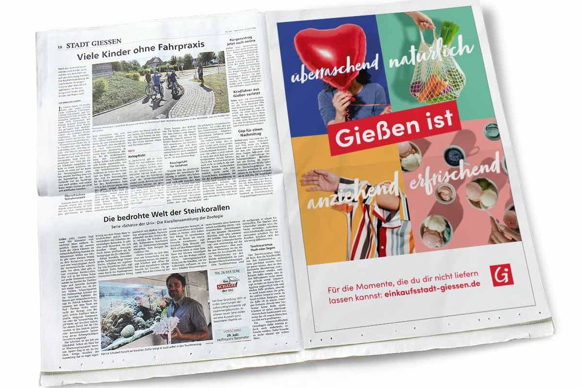 SMG-Kampagne Tageszeitung