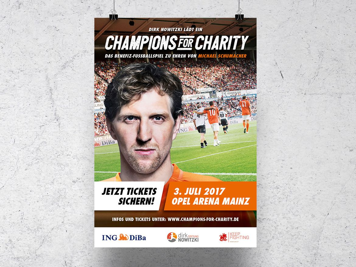 Champions for Charity 2017