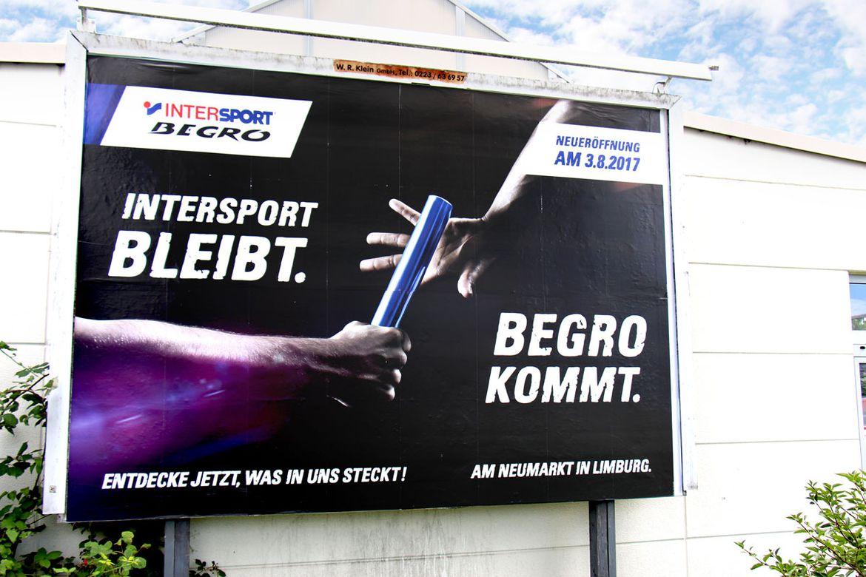 Intersport Begro-Neueröffnung Limburg Großfläche