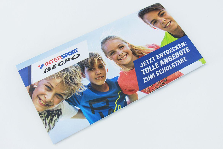 Intersport Begro-Mailing zum Schulstart