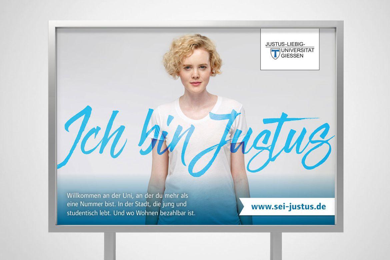 Kampagnenentwicklung für die Justus-Liebig-Universität