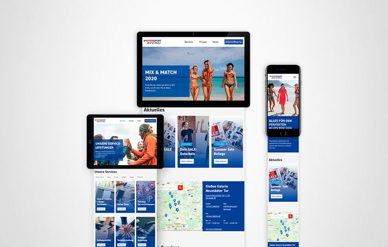 Intersport Begro Website