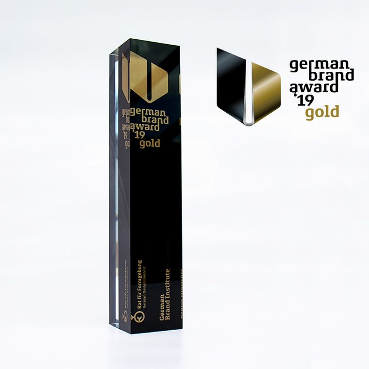German Brand Award Gold - OHROPAX