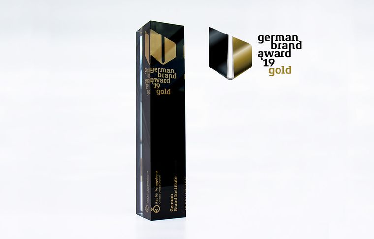 German Brand Award Gold