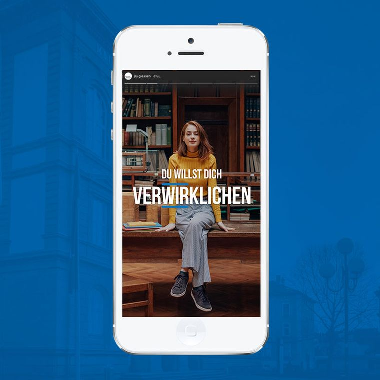Digitalkampagne WiWi Gießen