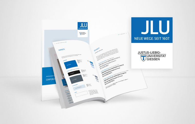 sgc Justus-Liebig-Universität Corporate Design