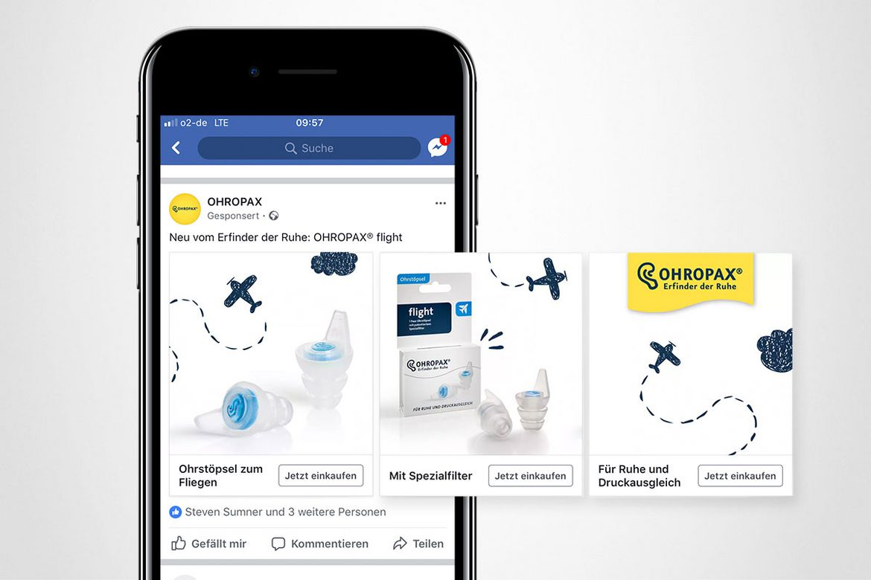 Ohropax Kampagne Landingpages