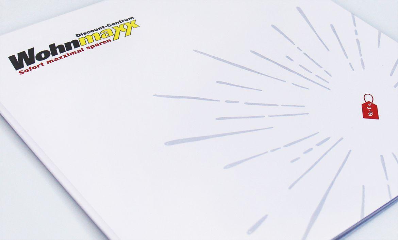 Positionierungsbooklet Wohnmaxx