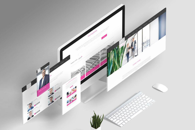 Unützer / Wagner / Werding Website Re-launch