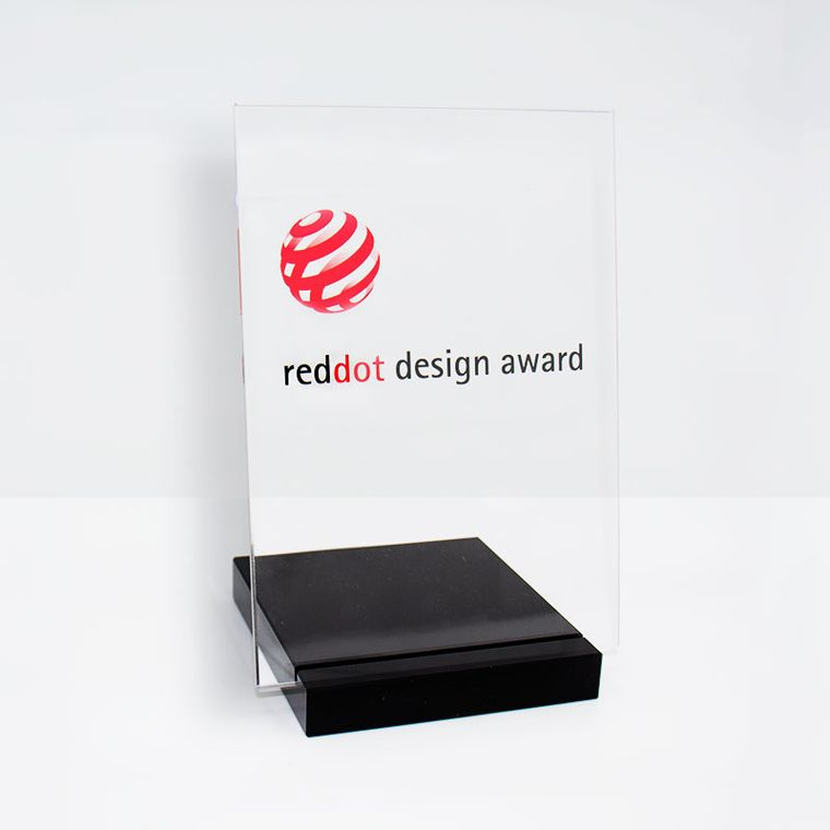 sgc punktet beim Red Dot Award