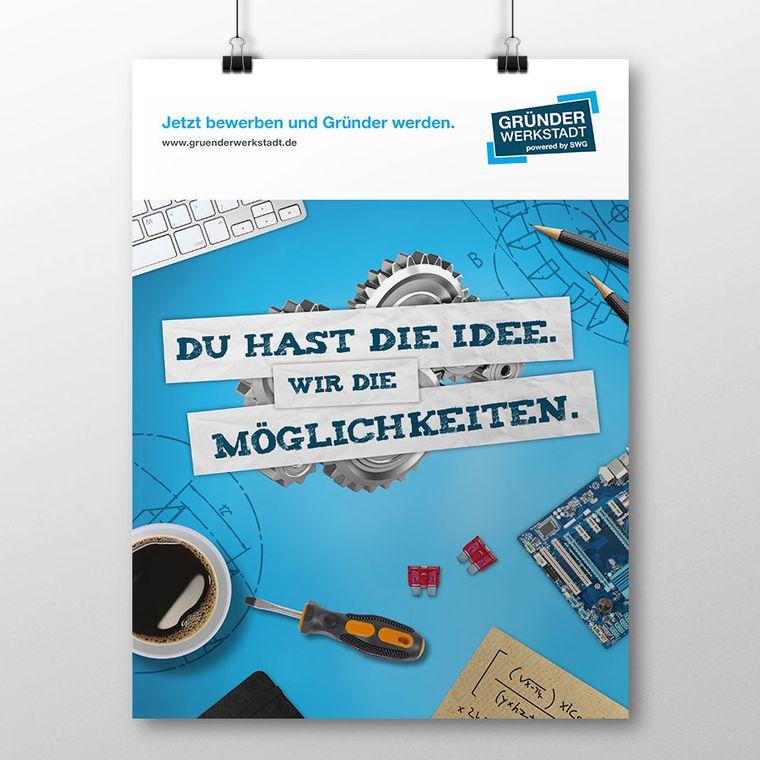 Kampagne für Ideen