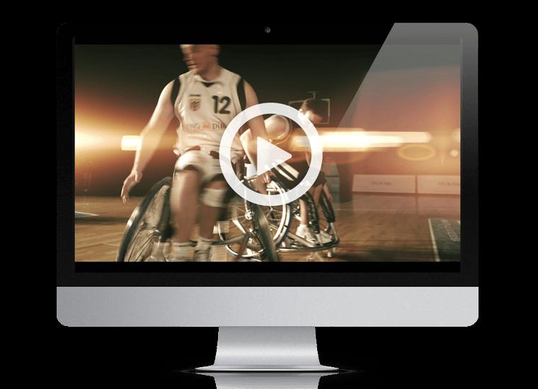 ING-DiBa Rollstuhlbasketball EM Spot