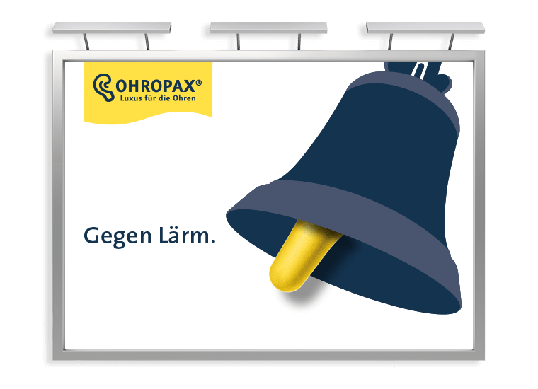 OHROPAX Großfläche Glocke