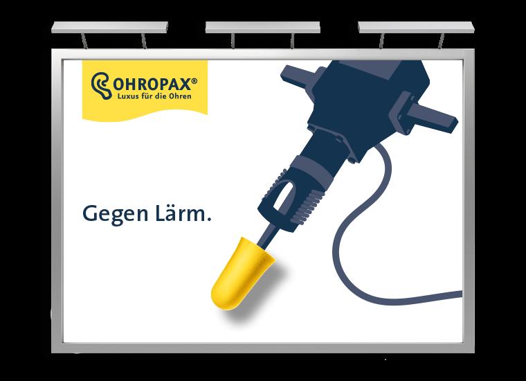 OHROPAX Großfläche Presslufthammer