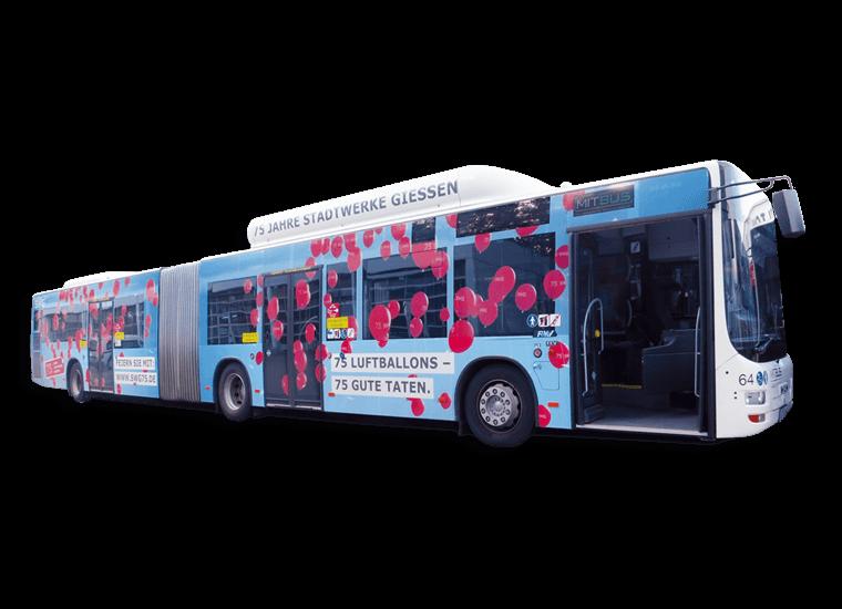 SWG 75 Jahre Bus